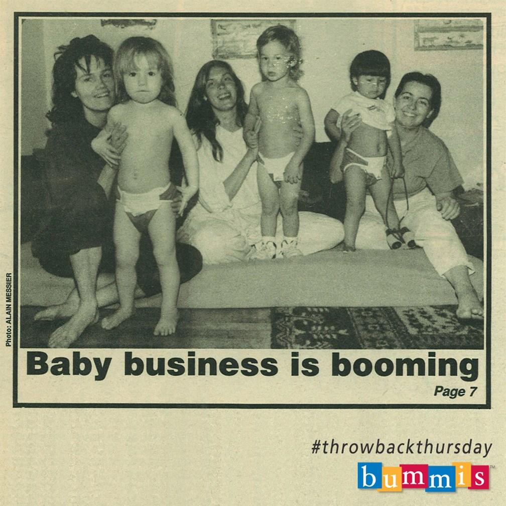 Bummis in 1990