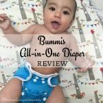Meet Bummis' All-in-One Diaper