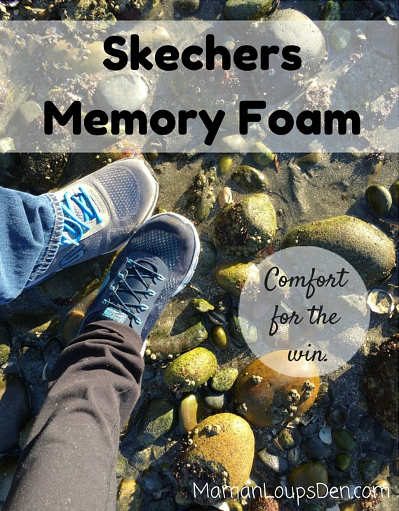Skechers Memory Foam for the Win - Maman Loup's Den