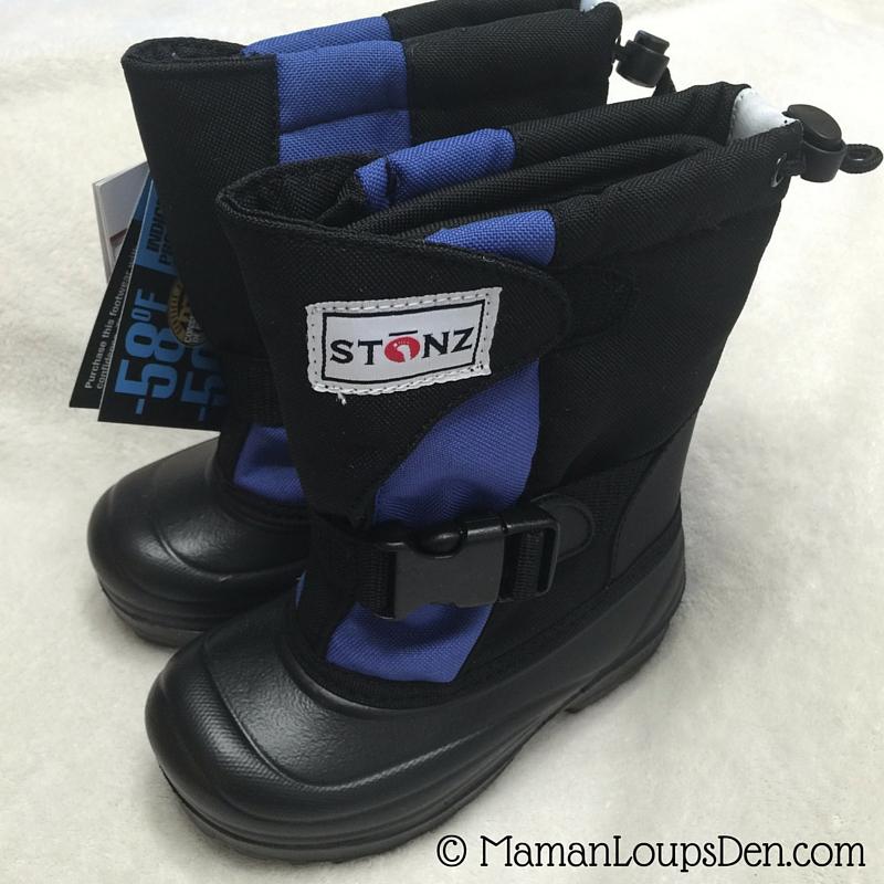 Stonz Bootz Review - Perfect Preschool Winter Boots - Maman Loup's Den