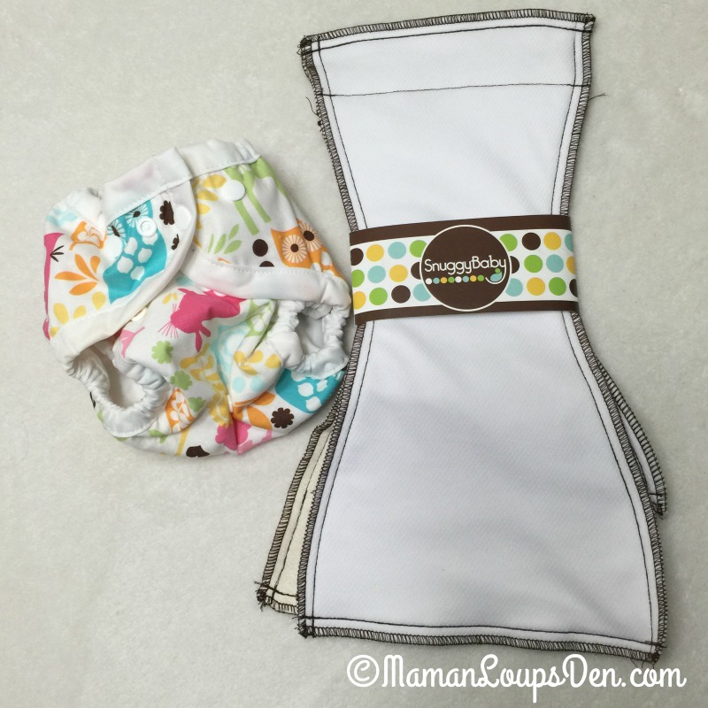 SnuggyBaby Cloth Diaper System Components