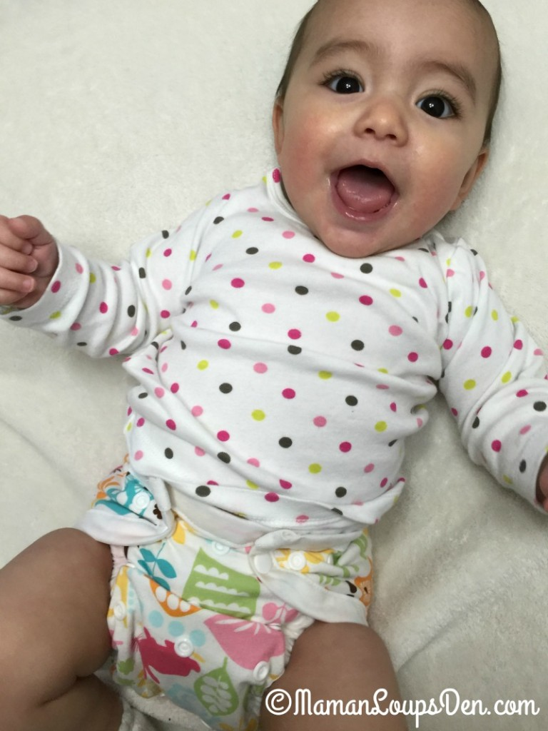 SnuggyBaby Cloth Diapers in Action