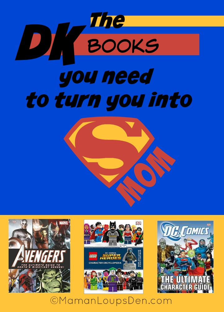 The DK Books You Need to Turn You Into Super Mom