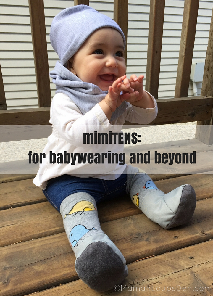 mimiTENS- for babywearing and beyond
