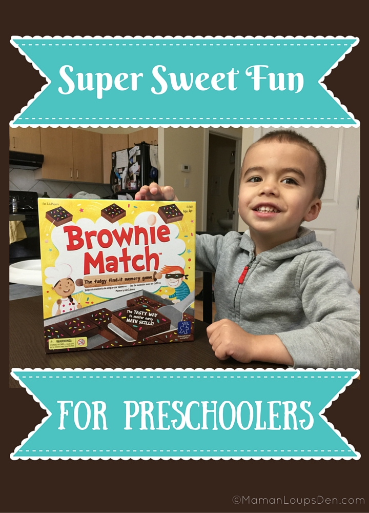 Brownie Match Game - Super Sweet Fun for Preschoolers