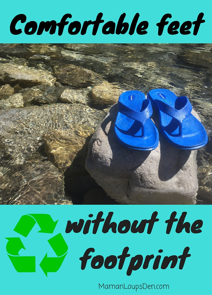 1c6843856 Comfortable feet without the footprint - Okabashi Maui Flip Flops