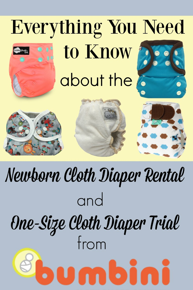 Newborn Cloth Diaper Rental and OS Cloth Diaper Trial from Bumbini