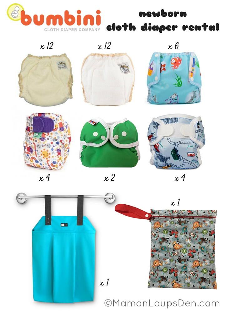 Bumbini Newborn Cloth Diaper Rental (1)