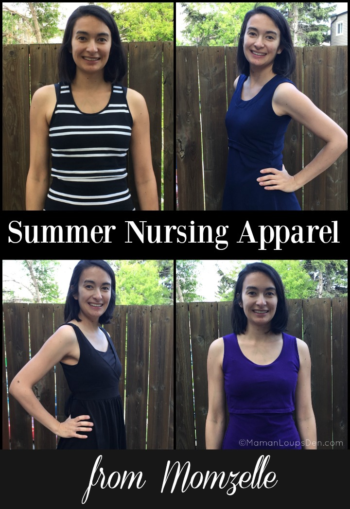 Summer Nursing Apparel from Momzelle