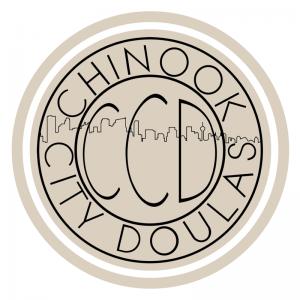 CCD Mounted Beige Logo