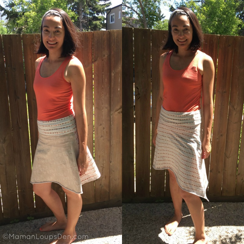 Halo All-in-One Skirt is Reversible