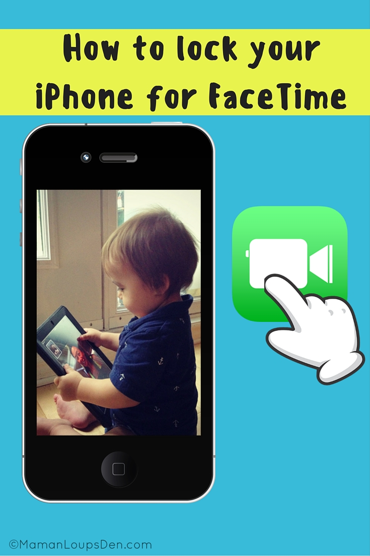 How to lock your iPhone Controls for FaceTime