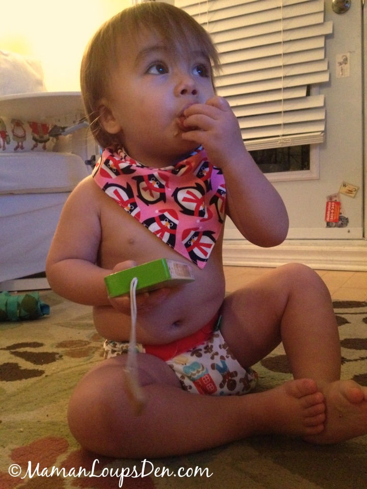 10 Fun Things to Do With Cloth Diapers - Celebrate the holidays