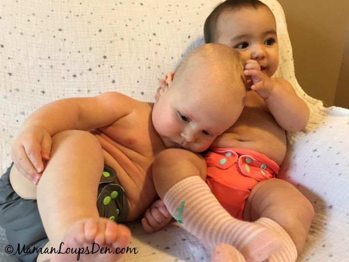 10 Fun Things To Do With Cloth Diapers - Wear them with friends