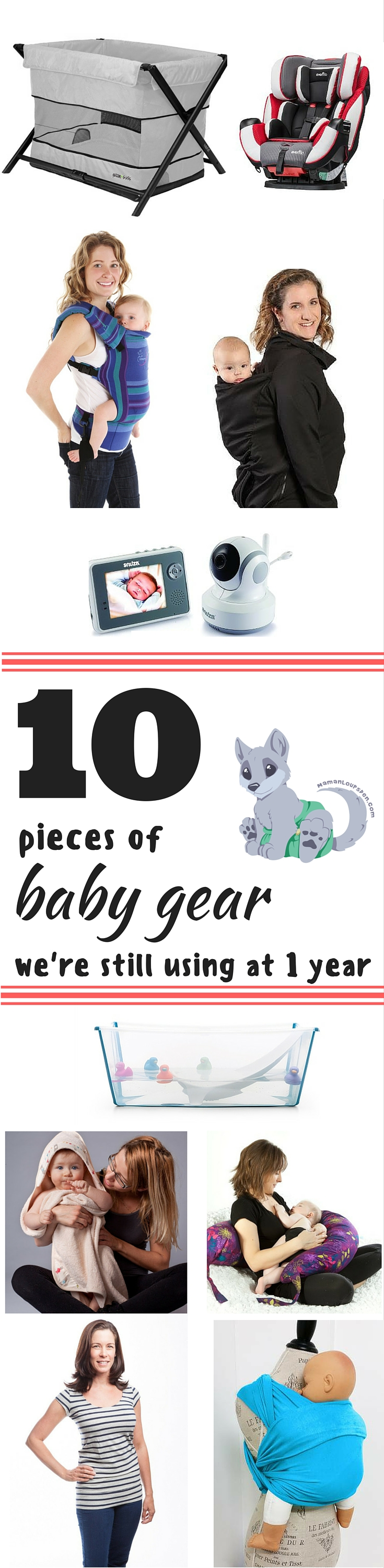10 Pieces of Baby Gear We're Still Using at 1 year - Maman Loup's Den