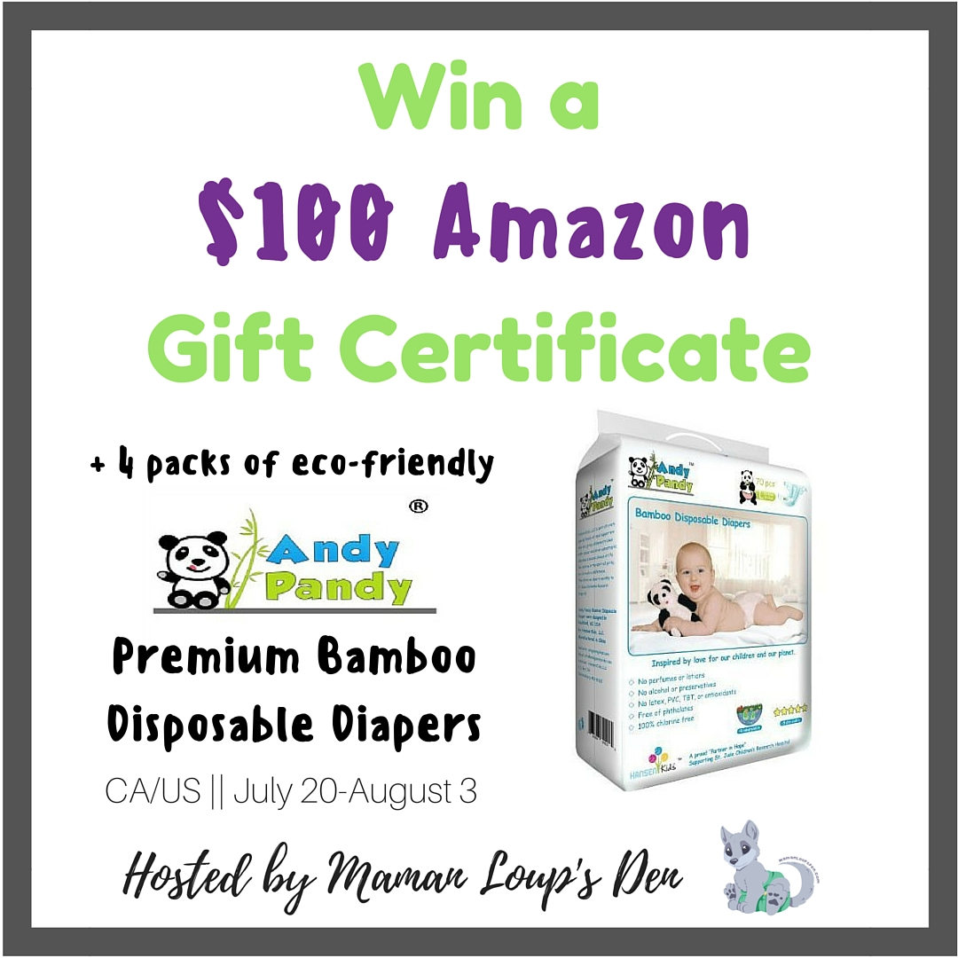 Premium Bamboo Disposable Diapers Giveaway