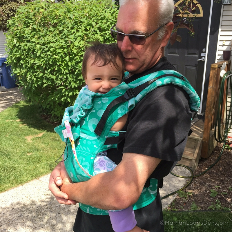 Babywearing Pop Pops