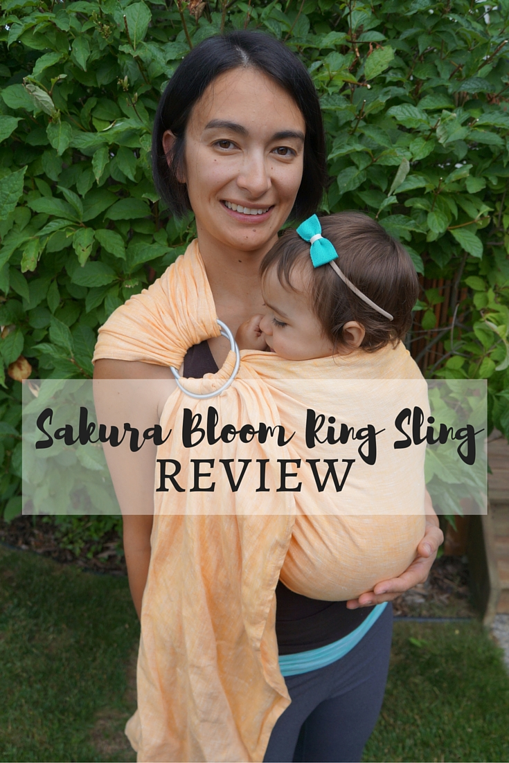 Sakura Bloom Ring Sling Review - Maman Loup's Den