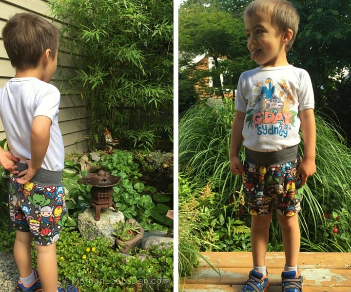 Side by Side in Eenvoudig Cuff Shorts