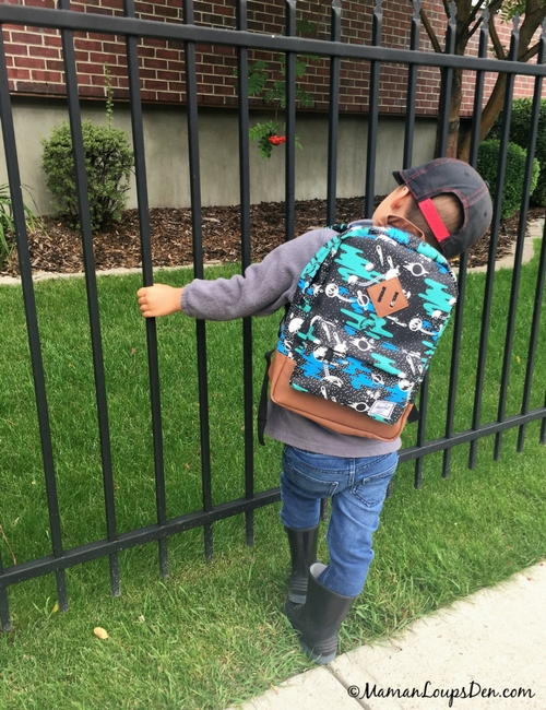 Herschel Kids Hertiage Backpack for back to school