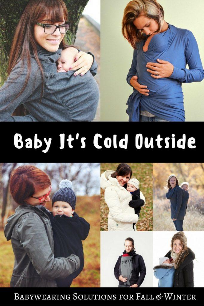 Winter Babywearing Options