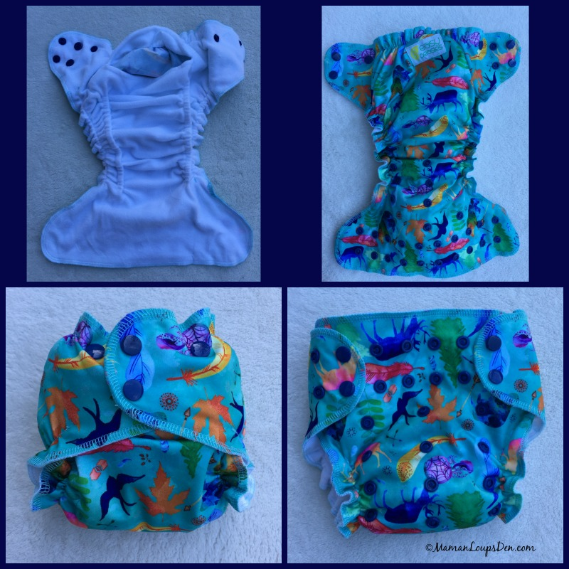 Review of Easy Peasies' All-in-One and Pocket Cloth Diapers