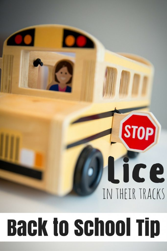 Stop Lice in Their Tracks