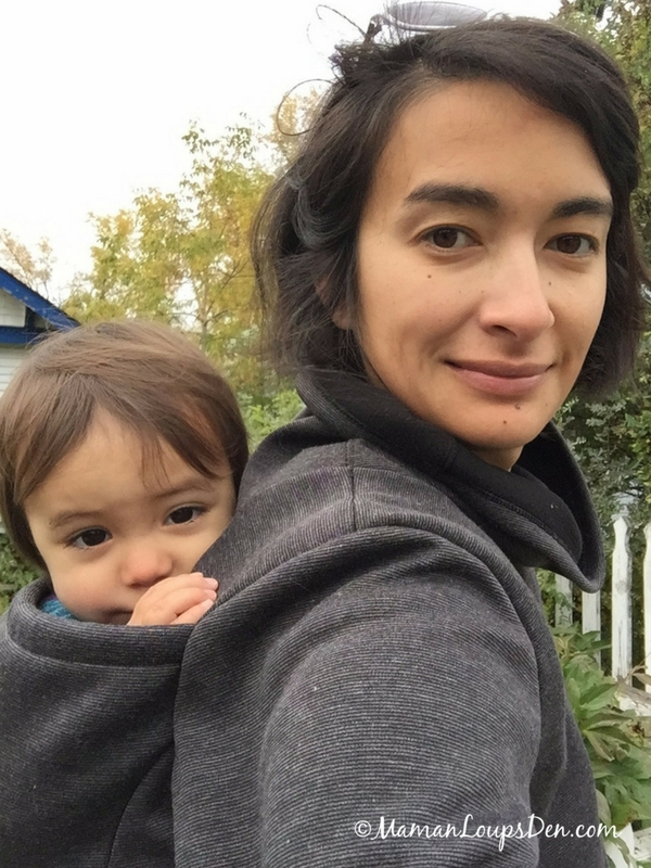 All About the Kuuma Babywearing Sweater by Belly Bedaine