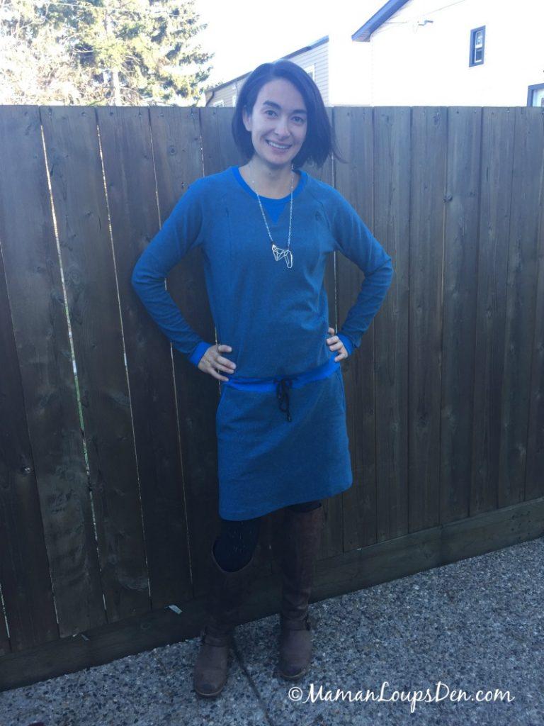Viva La Mama Una Nursing Dress