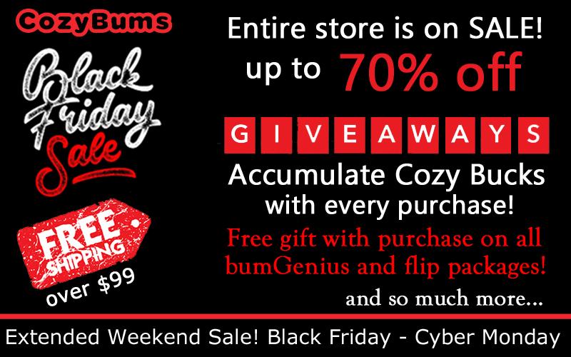 Cozy Bums Black Friday