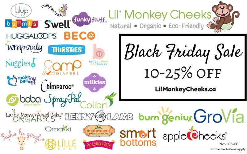 Lil' Monkey Cheeks Black Friday