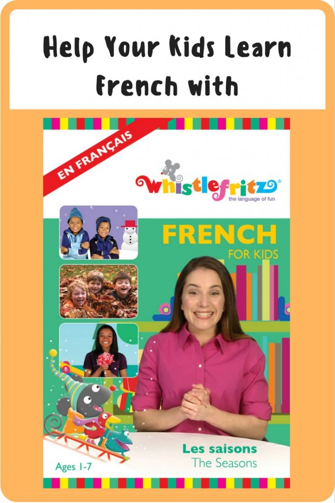 Help Your Kids Learn French with the Whistlefritz Les Saisons DVD