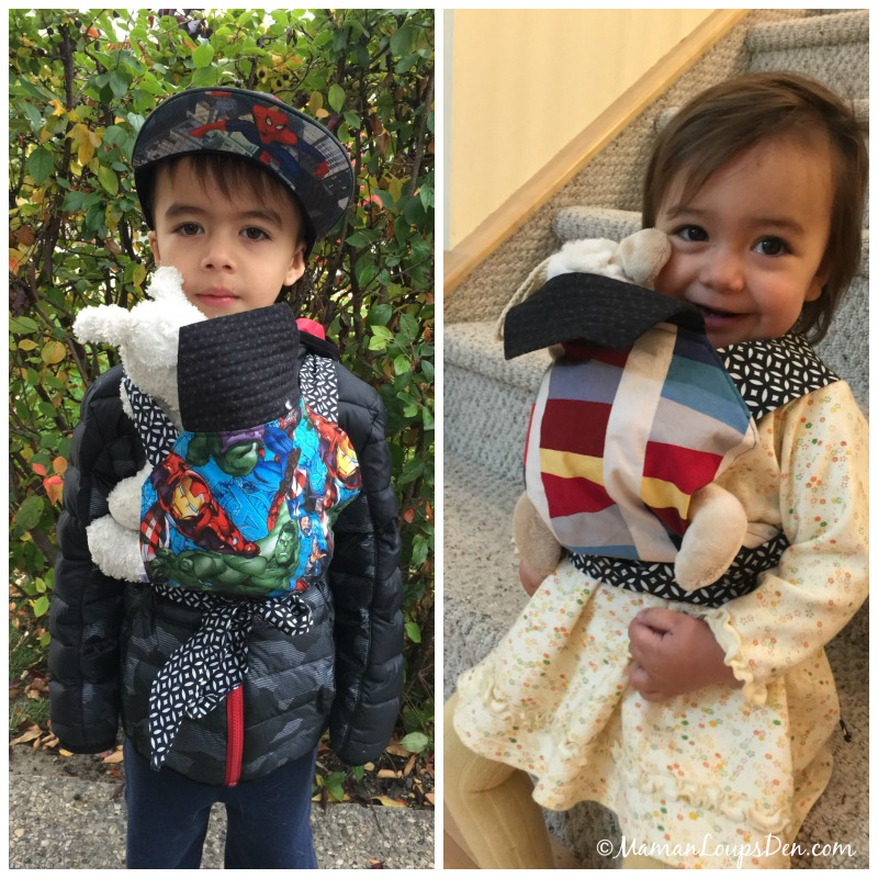 Made in Canada Children's Holiday Gift Guide: Doll Carrier