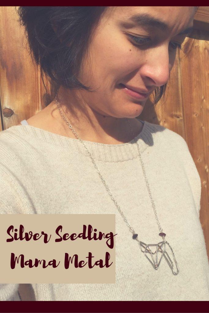 Silver Seedling Mama Metal