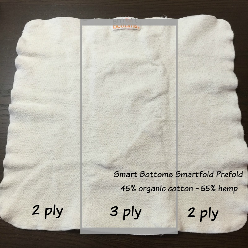 Smart Bottoms Too Smart Cover & Smartfold Organic Prefolds Review