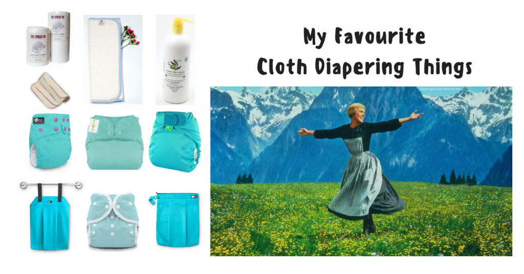 My Favourite Cloth Diapering Things
