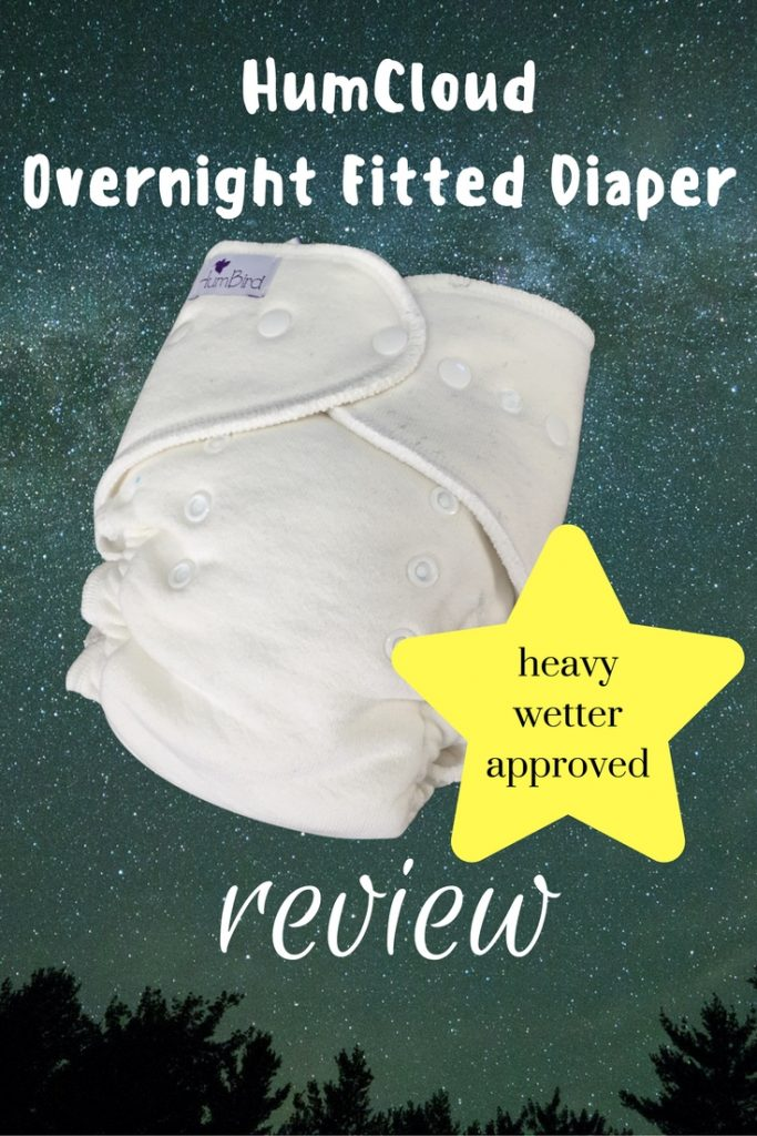 HumCloud Overight Fitted Cloth Diaper Review: Cloth Diapering Solution for Heavy Wetters