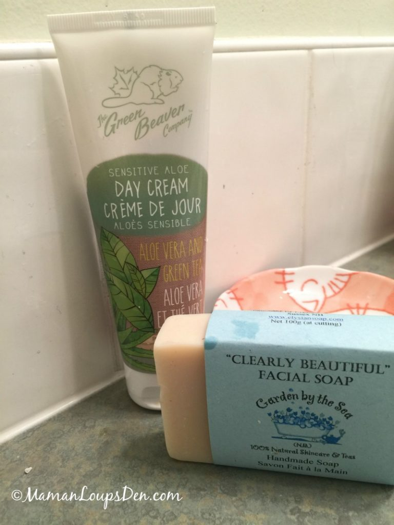 Here are my favourite body care products, chosen with careful attention to ingredients and to sustainability ... it's what's in my GREEN bathroom!