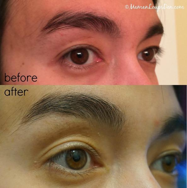 My Rapidlash Rapidbrow Results