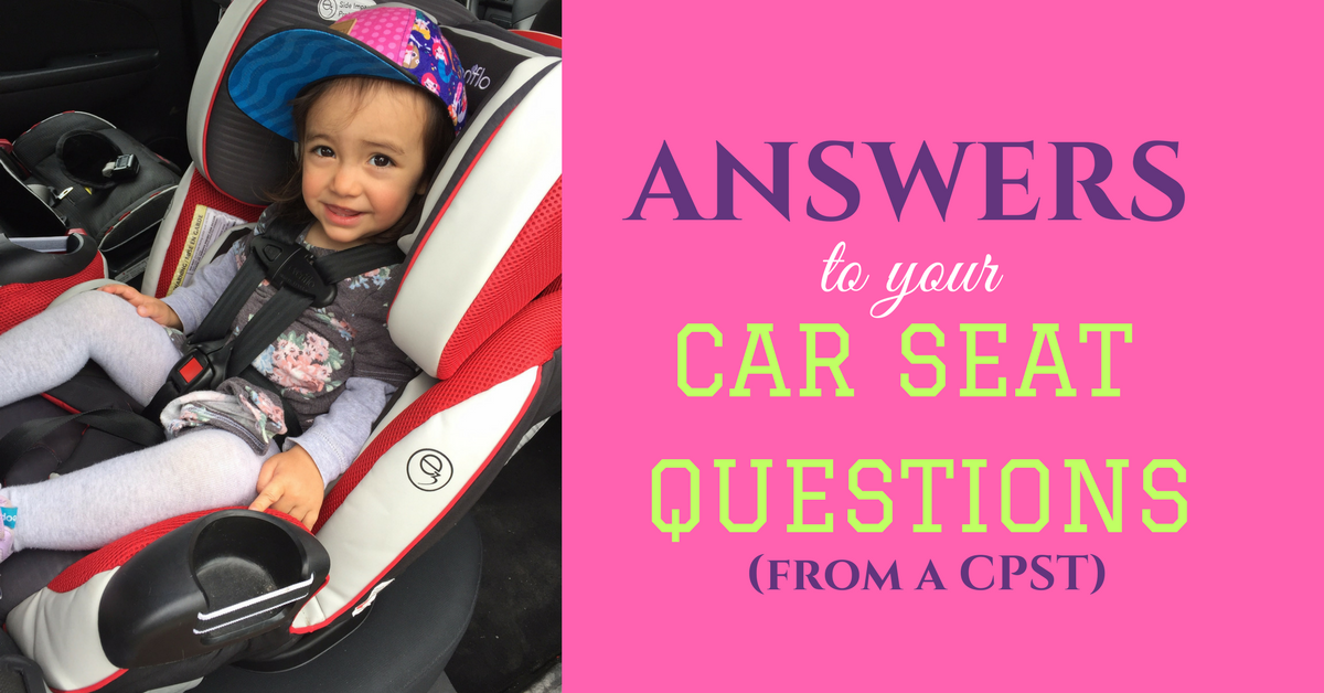 Answers To Your Car Seat Questions