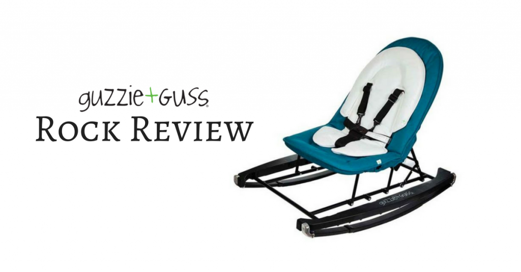 Guzzie + Guss Rock Baby Bouncer Review {+ Giveaway}
