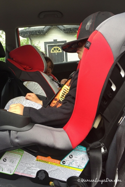 Evenflo Sonus Convertible Car Seat Review