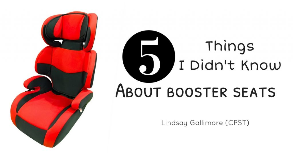 5 Things I Didn't Know About Booster Seats