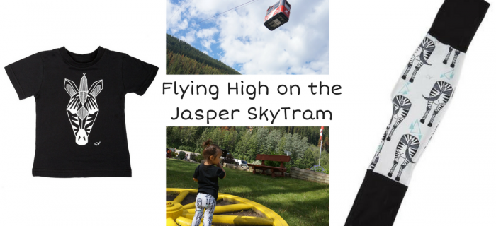 Flying High on the Jasper SkyTram with Coton Vanille {+ Giveaway}