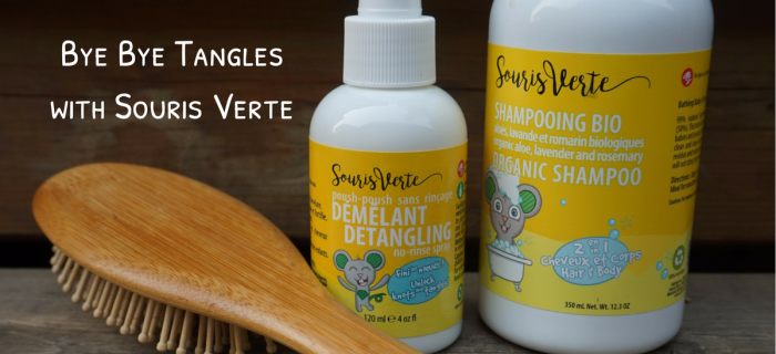 Souris Verte's Haircare Line: No More Tears, No More Tangles {+ a giveaway}