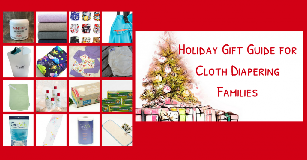 Holiday Gift Guide for Cloth Diapering Families {+ coupon codes & $100 Cash Giveaway}