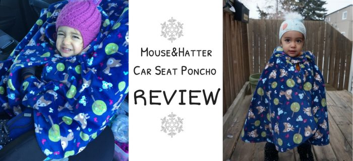 Mouse&Hatter Car Seat Poncho Review {+ giveaway & free shipping promo}