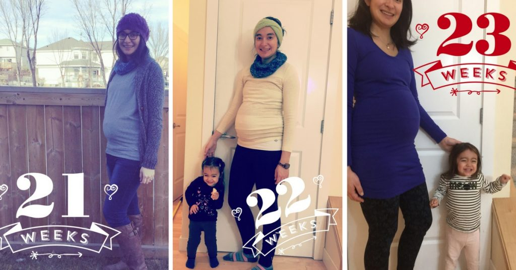 23 Weeks Pregnant … and I have to P!