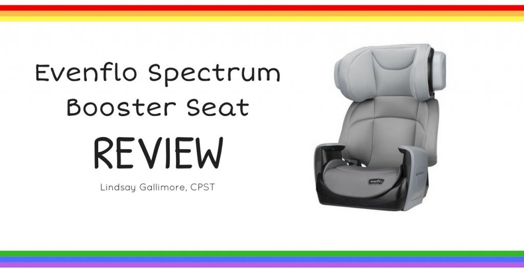 Evenflo Spectrum Booster Seat Review