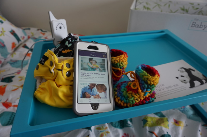How the TELUS #BabyHealthApp Will Help Me With TWINS!